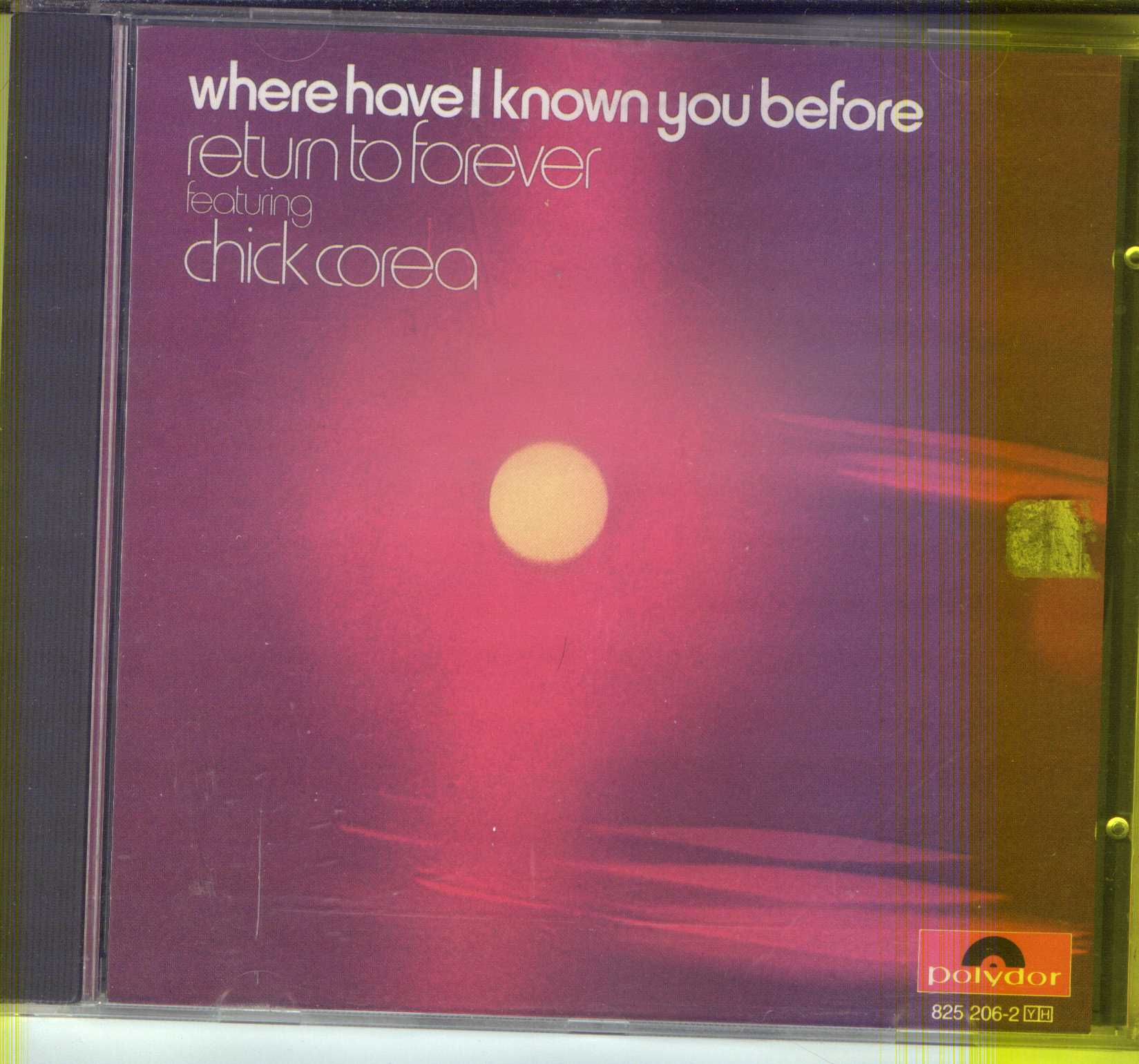 Where Have I Known You Before by Chick Corea/Return to Forever (CD, Oct-1990, Ve