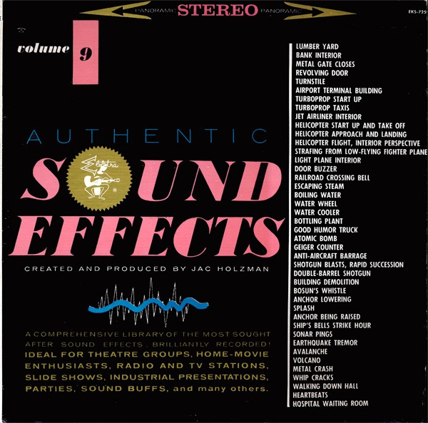 Jac Holzman - Authentic Sound Effects Volume 9