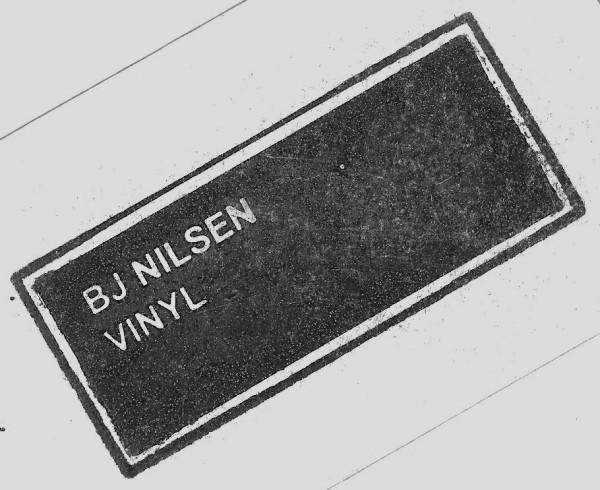BJNilsen - Vinyl